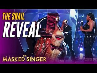 SHOCKER! Masked Singer Snail REVEAL is The Biggest Yet On The Masked Singer HISTORY!