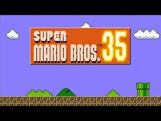 Super Mario Bros. 35 Playthrough