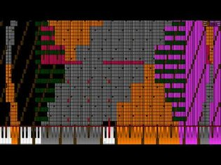 [Black MIDI] Bad Apple!! 41.36 Million | Legit Run