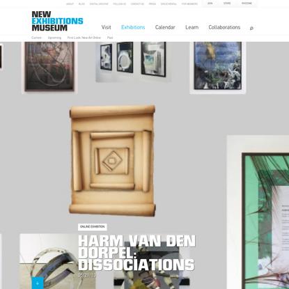 Harm van den Dorpel: Dissociations