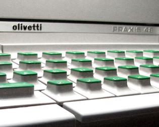 olivetti Praxis 48 keyboard