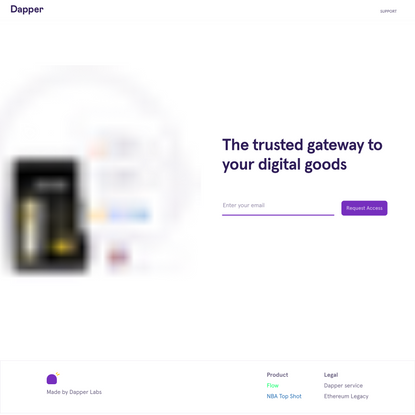 Dapper - Your account manager for all things Flow