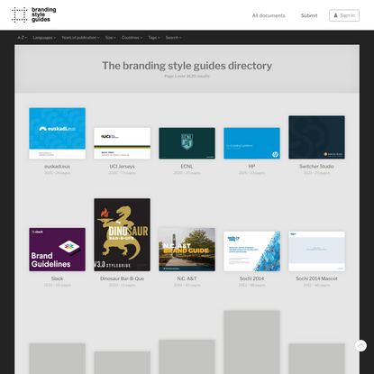Guides | Branding Style Guides