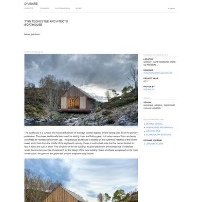 TYIN tegnestue Architects, Pasi Aalto · Boathouse