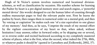 Ruth Evans on Hugh of St. Victor's mindware