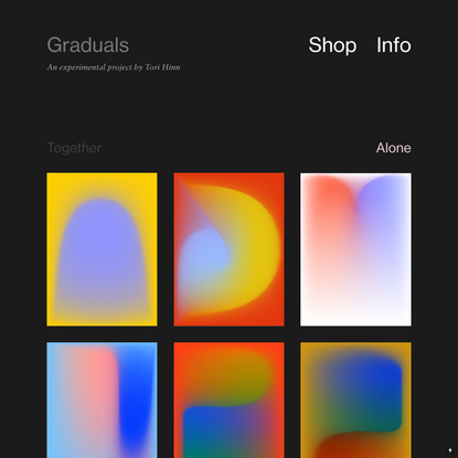 Homepage — gradients daily
