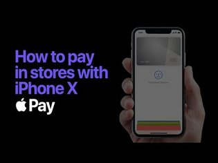 Apple Pay - How to pay with Face ID on iPhone X- Apple