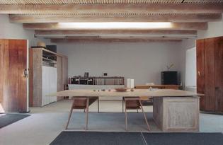 Georgia O'Keefe's studio
