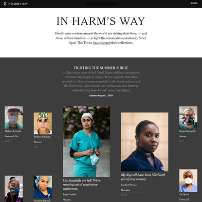In Harm's Way: Fighting the Summer Surge