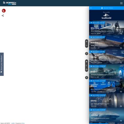 OCEARCH Shark Tracker