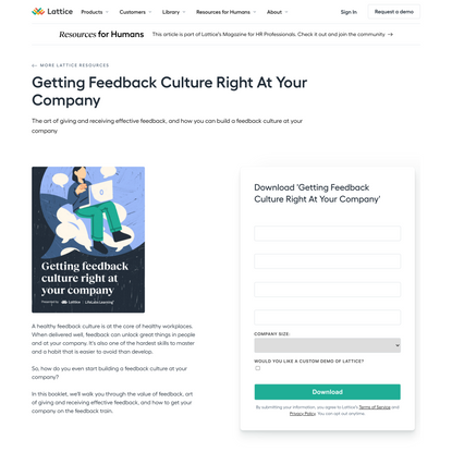 Getting Feedback Culture Right At Your Company