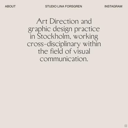 Studio Lina Forsgren