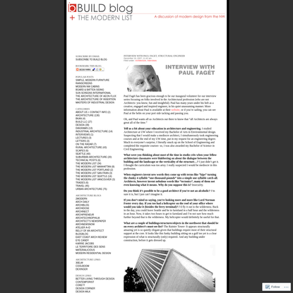 BUILD Blog