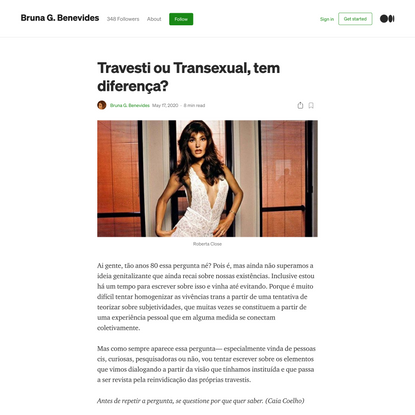 Travesti ou Transexual, tem diferença?