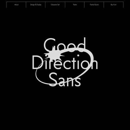 Good Direction Sans