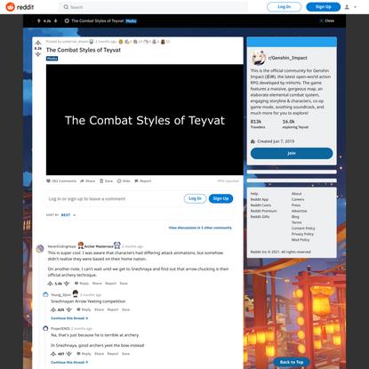 r/Genshin_Impact - The Combat Styles of Teyvat