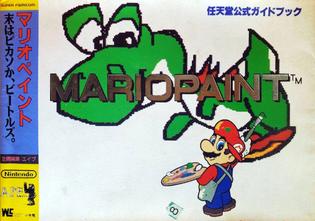 Mario Paint: Sue wa Piccaso ka Beatles - Nintendo Koshiki Guide Book (Wonder Life Special)