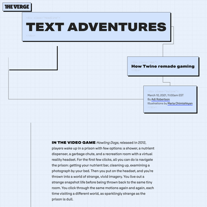 Text Adventures: how Twine remade gaming