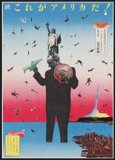 This is America (1968) – Tadanori Yokoo