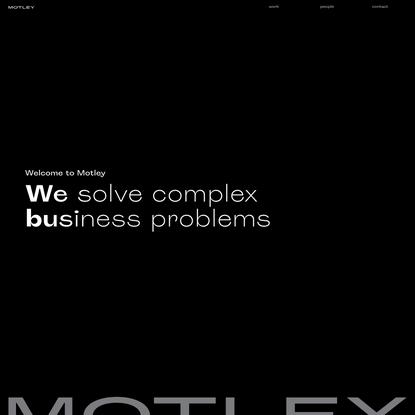 Home - Motley