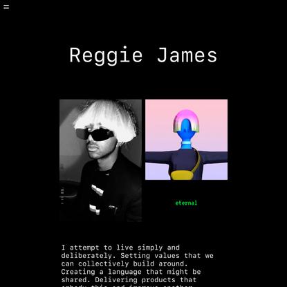 Reggie James