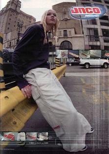 JNCO magazine posters, 80-90's
