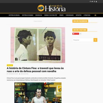 A história de Cintura Fina: a travesti que levou às ruas a arte da defesa pessoal com navalha - Iconografia da História