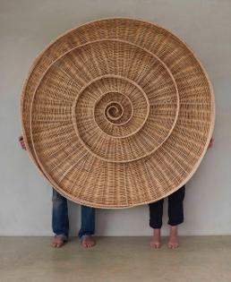 silkworm basket. anne marie osullivan