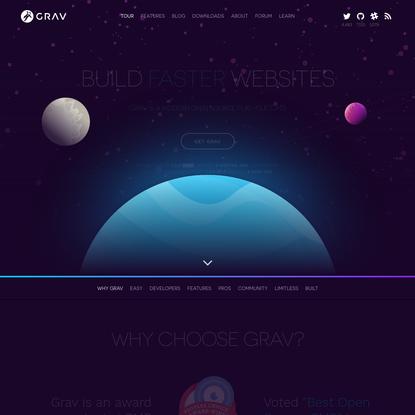 Grav - A Modern Flat-File CMS   Grav