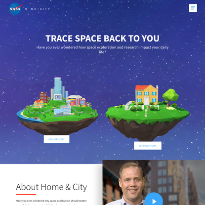 Trace Space Back to You | Nasa Home & City