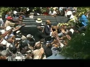 The Historic Return of the Aristide Family to Haiti. Democracy Now! Special Report: Part 1 of 2