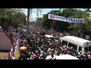 Aristide returns to Haiti
