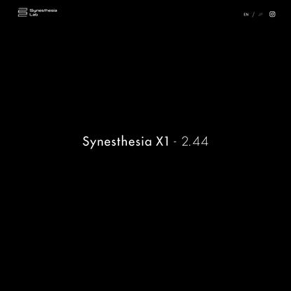 Synesthesia X1