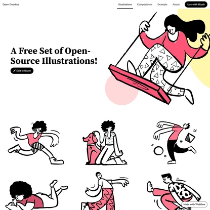 Open Doodles - Free sketchy illustrations