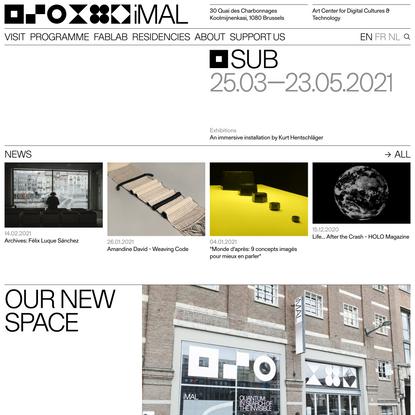iMAL – Art Center for digital cultures & technology.