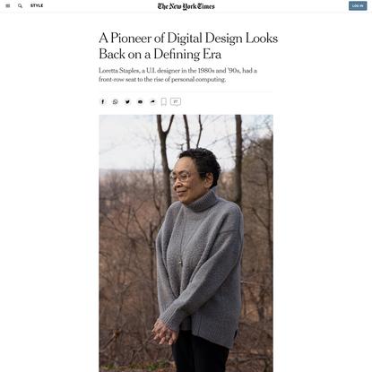 A Pioneer of Digital Design Looks Back on a Defining Era