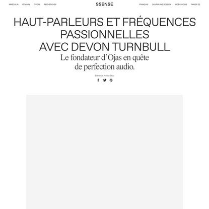 Haut-parleurs et fréquences passionnelles avec Devon Turnbull