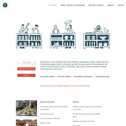 Facilities — Forage Kitchen | Commissary kitchen | Shared kitchen | Community kitchen