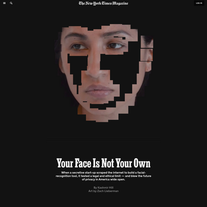 What Happens When Our Faces Are Tracked Everywhere We Go?