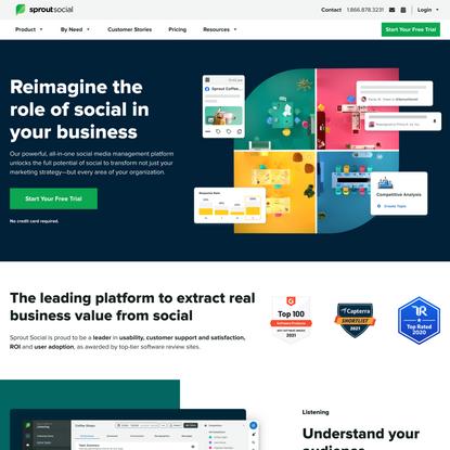 Sprout Social: Social Media Management Solutions