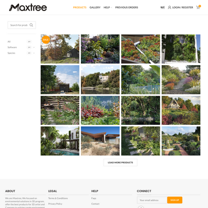 Maxtree – 3D Plant Models   CG Assets