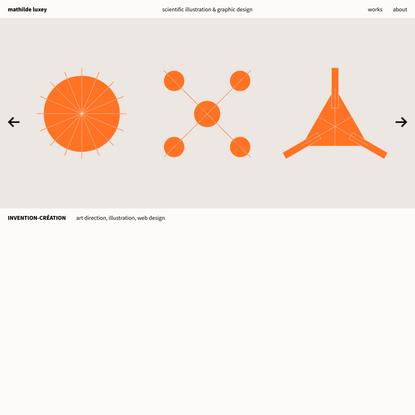 Homepage - Mathilde Luxey