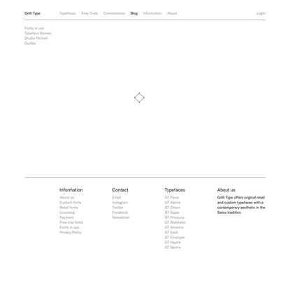 GT – Web Fonts Guide