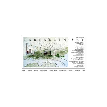 TARPAULIN SKY ONLINE LITERARY JOURNAL V3n2 SUMMER 2005