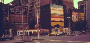 Lyon, Danny. Corner of Lafayette and Houston St., New York, NY (June 1974)