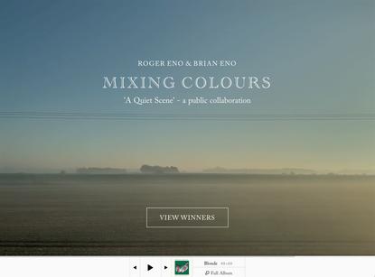 Roger Eno & Brian Eno | Mixing Colours