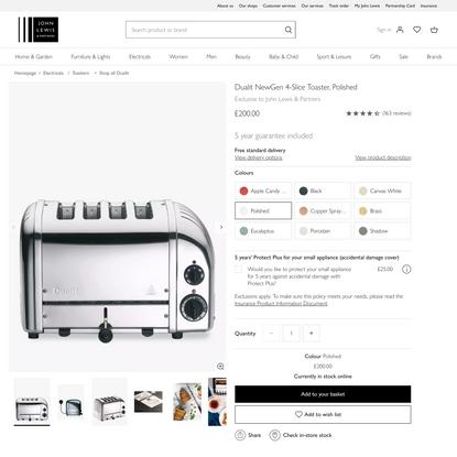 Dualit NewGen 4-Slice Toaster at John Lewis & Partners