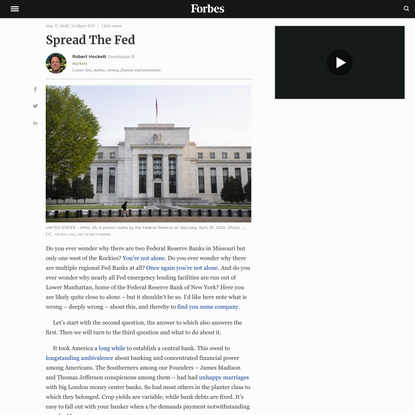 Spread The Fed