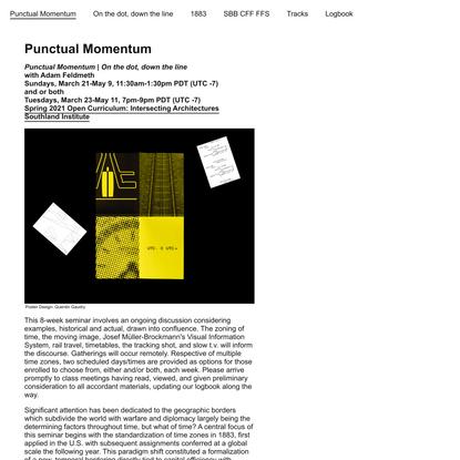 Punctual Momentum | Punctual Momentum