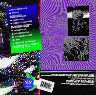Kirlian, by Psypiritual and THe Lasso 2020, Mylkweed Back Cover